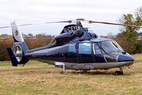 G-CEYU @ EGBC - Aerospatiale AS.365N1 Dauphin [6298] (Multiflight) Cheltenham Race Course~G 13/03/2009. Earlier scheme.