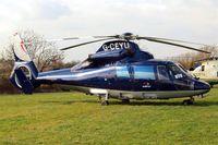 G-CEYU @ EGBC - Aerospatiale AS.365N1 Dauphin [6298] (Multiflight) Cheltenham Race Course~G 18/03/2011