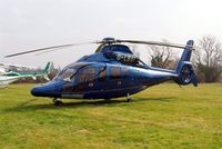 G-LBAI @ EGBC - Eurocopter EC.155B1 Dauphin [6652] Cheltenham Race Course~G 15/03/2011