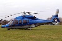 G-EURT @ EGBC - Eurocopter EC.155B1 Dauphin [6764] (William Ewart Properties Ltd) Cheltenham Race Course~G 13/03/2008