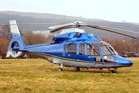 G-EURT @ EGBC - Eurocopter EC.155B1 Dauphin [6764] (William Ewart Properties Ltd) Cheltenham Race Course~G 17/03/2010