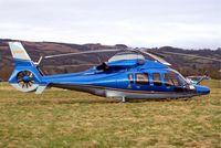 G-EURT @ EGBC - Eurocopter EC.155B1 Dauphin [6764] (William Ewart Properties Ltd) Cheltenham Race Course~G 12/03/2009