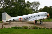 87 @ LFRH - Douglas C-47 DL, Exposed at Lann-Bihoué Naval Air Base (LFRH-LRT) - by Yves-Q