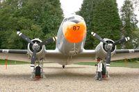 87 @ LFRH - Douglas C-47 DL, Displayed at Lann Bihoué Air Base (LFRH-LRT) - by Yves-Q