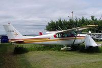 C-FMKT @ CYBW - Cessna 175B Skylark [56821] Springbank~C 22/07/2008 - by Ray Barber