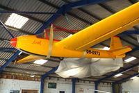 BGA4970 @ X3SY - in the main hangar at Saltby airfield - by Chris Hall