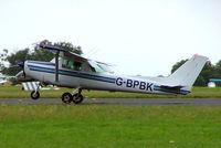 G-BPBK @ EGBP - Cessna 152 [152-83417] Kemble~G 02/07/2005 - by Ray Barber