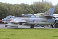 N-268 - Hawker Hunter at Yorkshire Air Museum ex Dutch and Qatar AFs - by Terry Fletcher