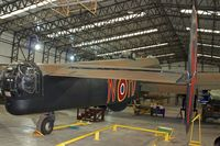 LV907 - Halifax Bomber at Yorkshire Air Museum