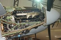 HJ711 - Rolls Royce engine on DH98 Mosquito at Yorkshire Air Museum