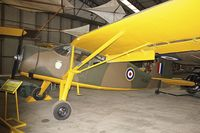 G-AJOZ - Fairchild Angus at Yorkshire Air Museum - by Terry Fletcher