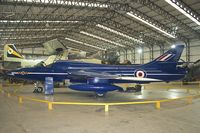 XL572 - Hawker Hiunter at Yorkshire Air Museum - wears XL571 but is actually ex XL572
