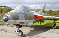 N-268 - Hawker Hunter at Yorkshire Air Museum - by Terry Fletcher
