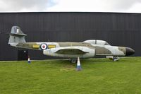 WS788 - Gloster Meteor at Yorkshire Air Museum