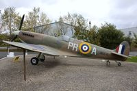 R6690 - Replica Spitfire at Yorkshire Air Museum