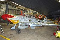 BAPC240 @ X4EV - Replica Messerschmitt BF109 G-6 at Yorkshire Air Museum - by Terry Fletcher