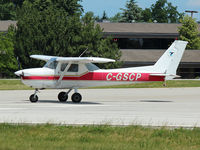 C-GSCP @ CYKZ - Cessna 150M ready to take off rwy 33 at Buttonville Airport - by Ron Coates