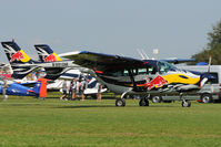 N991DM @ EDTS - Red Bull Cessna 337