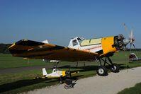 SP-YFK @ EDTS - PZL 21 Dromedar