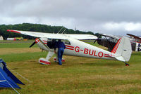 G-BULO @ EGBP - Luscombe 8F Silvaire [4216] Kemble~G 02/07/2005 - by Ray Barber