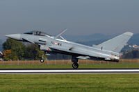 7L-WA @ LOWL - Austrian Airforce Eurofighter EF-2000 Typhoon S landing on RWY26 in LOWL/LNZ - by Janos Palvoelgyi