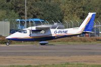 G-RVNE @ EGHH - Regular visitor to BHL - by John Coates