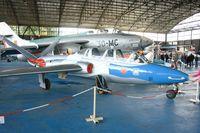538 @ LFOC - Fouga CM-170 Magister, Canopée Museum Châteaudun Air Base 279 (LFOC) - by Yves-Q