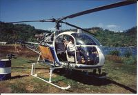 F-GBDC @ NTTB - F-GBDC landed on Tahiti helicoptères helipad , Paofai bay, Bora bora Ilsand - by Dom TORRENS