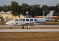 N719SF @ ORL - Piper PA-31-350