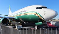 N737WH @ ORL - Former Miami Dolphins BBJ