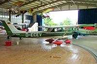 D-ECEV @ EDML - R/Cessna F.150K [0585] Landshut~D 17/07/2009 - by Ray Barber