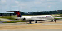 N966DL @ KATL - Pushback Atlanta - by Ronald Barker