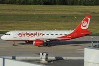 D-ABNB @ EDDK - Air Berlin Airbus 320