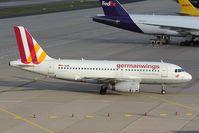 D-AGWF @ EDDK - Germanwings Airbus 319