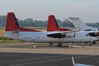 PH-GHK @ EHBK - Fokker 50