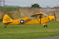 G-FUZZ @ EGBR - at Breighton's Pre Hibernation Fly-in, 2013 - by Chris Hall