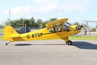 G-BTSP @ EISG - G-BTSP Cub taxying out at Sligo - by Pete Hughes