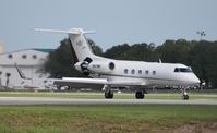 N817MF @ ORL - Gulfstream III
