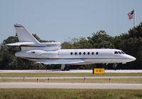 N827CT @ ORL - Falcon 50