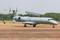 729 @ EGVA - Arriving at RIAT 2013 - by John Coates