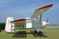 F-PYFV @ LFQD - Croses LC.6 Criquet [22] Arras-Roclincourt~F 29/07/1983 - by Ray Barber