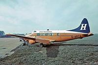 G-ARTS @ EGKB - De Havilland DH.104 Dove 6 [04369] (Haywards) Biggin Hill~G 17/05/1975. Taken from a slide.