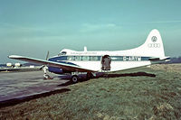 G-ARYM @ EGKB - De Havilland DH.104 Dove 8 [04529] (Volswagen GB Limited) Biggin Hill~G 17/05/1975. Taken from a slide.