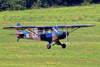 OO-SPG @ EBDT - Piper L-18C-95 Super Cub [18-1650] Schaffen-Diest~OO 14/08/2010