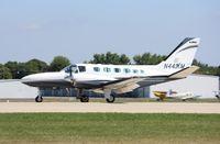 N441KM @ KOSH - Cessna 441