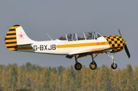 G-BXJB @ EGSH - A regular visitor in 2010 ! - by keithnewsome