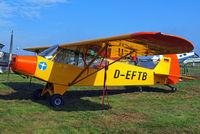 D-EFTB @ EBDT - Piper L-18C-95 Super Cub [18-3455] Schaffen-Diest~OO 14/08/2010 - by Ray Barber