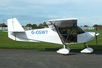 G-CGWT @ EGBR - at Breighton's Pre Hibernation Fly-in, 2013 - by Chris Hall