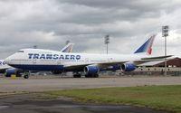 VP-BQH @ KRME - Boeing 747-200