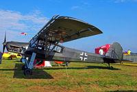 D-EVDB @ EBDT - Fieseler Fi-156C-7 Storch [2042] Schaffen-Diest~OO 14/08/2010 - by Ray Barber
